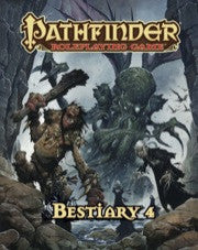 Pathfinder Ropleplaying Game Bestiary 4 | Boutique FDB