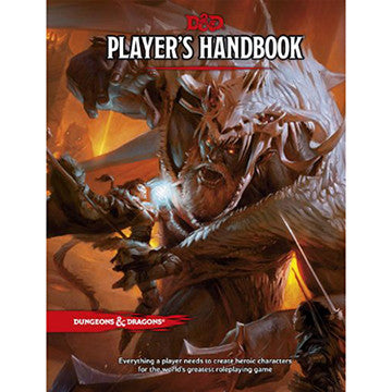 Dungeons & Dragons (5th Ed.) Player's Handbook | Boutique FDB