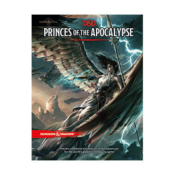 Dungeons & Dragons Princes of the Apocalypse (5th) | Boutique FDB