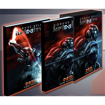 Infinity : The Game Rulebook 3rd Edition | Boutique FDB