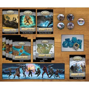 Savage Worlds: Rifts: Collector's Box Set (BOOK)