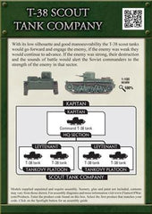 Flames of War T-38 Scout Tank Company | Boutique FDB