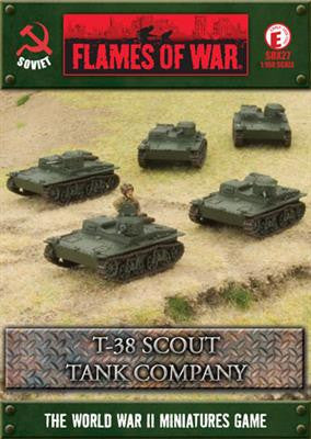 Flames of War T-38 Scout Tank Company