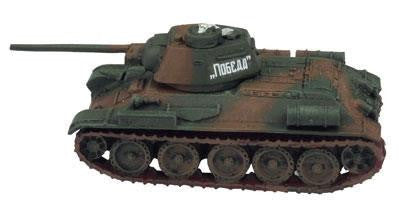 T-34 obr 1942, with T-34/57 and OT-34 option