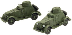 BA-20 Armoured Car, with two models