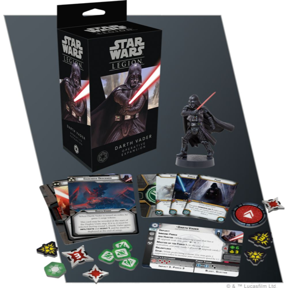 Star Wars Legion 2nd Darth Vader Operative Expansion | Boutique FDB