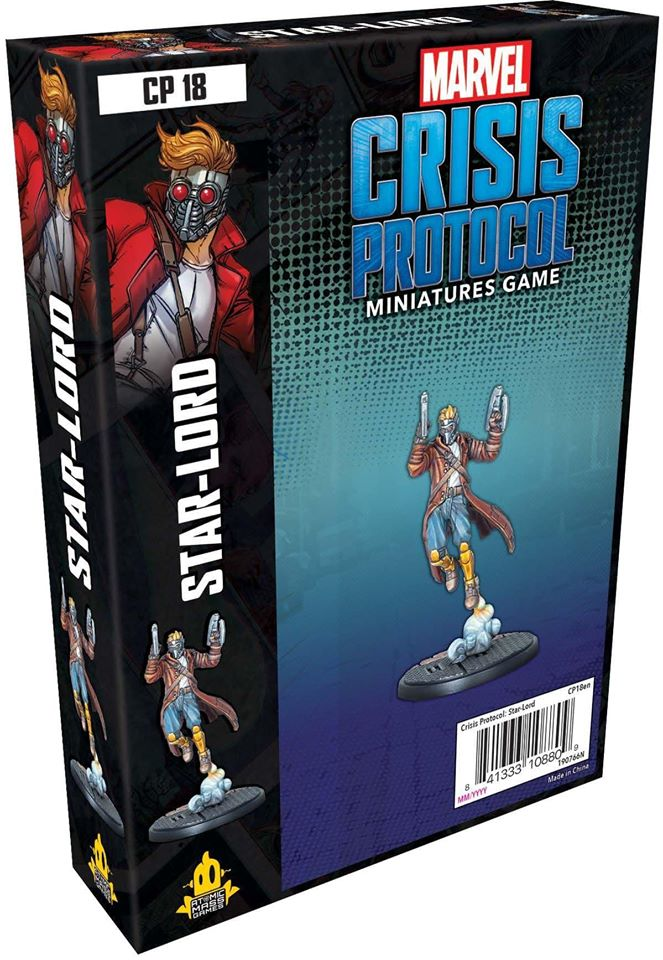 Marvel Crisis Protocol - Star-Lord | Boutique FDB