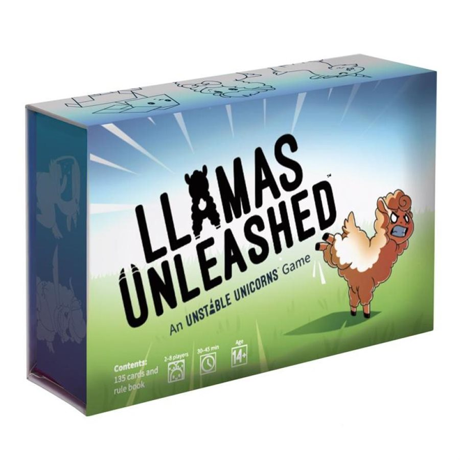 Llamas Unleashed | Boutique FDB
