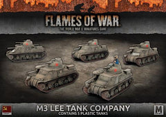 Flames of War M3 Lee Tank Company