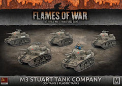 Flames of War M3 Stuart Tank Company
