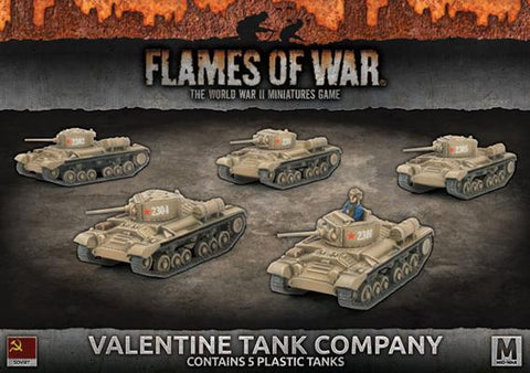 Flames of War Valentine Tank Company