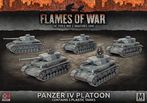 Flames of War Panzer IV Platoon