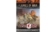 Flames of War Deserts rats command cards