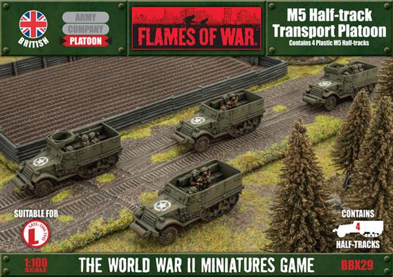 Flames of War M5 Half-track Transport | Boutique FDB
