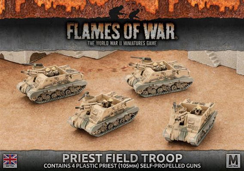 Flames of War Priest Field Troop