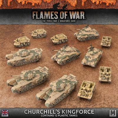 Flames of War Churchill's Kingforce Army Deal