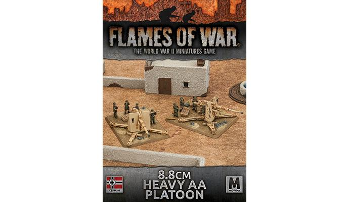 Flames of War 8.8cm Heavy AA Platoon (Plastic) | Boutique FDB