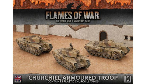 Flames of War Churchill Armoured Troop