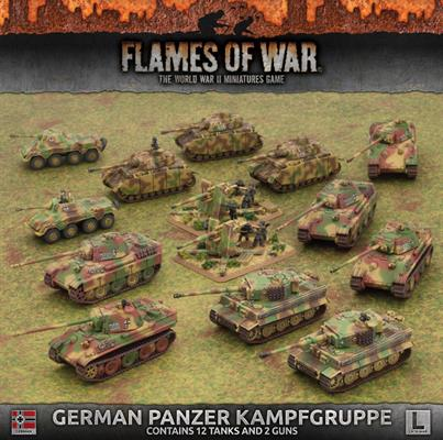 Flames or War German Panzer Kampfgruppe