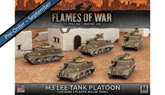 Flames of War M3 Lee Tank Platoon