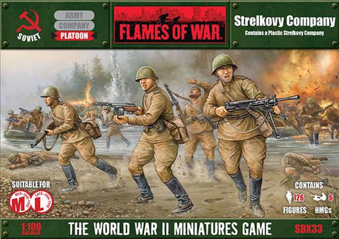 Flames of war Strelkovy Company (Plastic)