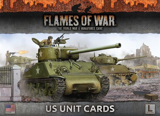 Flames of War US Unit Cards | Boutique FDB