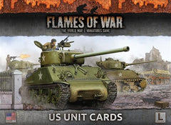 Flames of War US Unit Cards