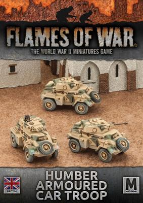 Flames of War Humber Armoured Car Troop