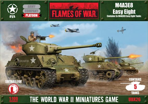 Flames of War M4A3E8 Easy Eight | Boutique FDB
