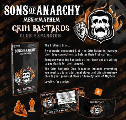 Sons Of Anarchy Game: Grim Bastards | Boutique FDB