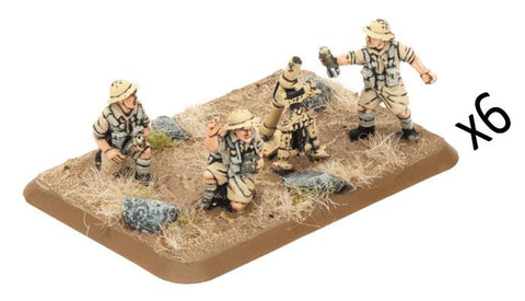 Flames of War 3-inch Mortar Platoon (8th army plastic)