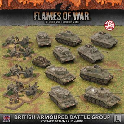 Flames of War British Armoured Battle Group