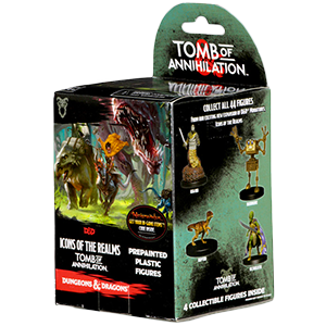 Icons of the Realms: Tomb of Annihilation D&D Miniatures Brick