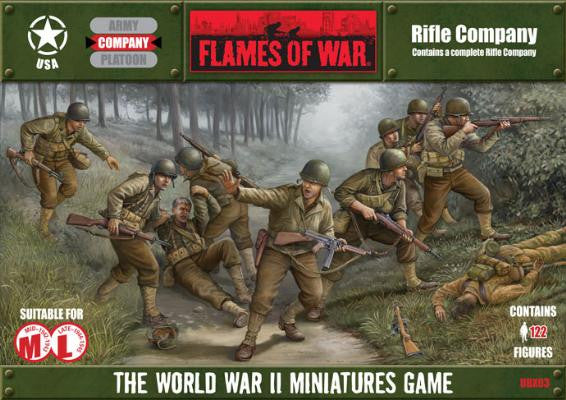Flames of War Rifle Company | Boutique FDB