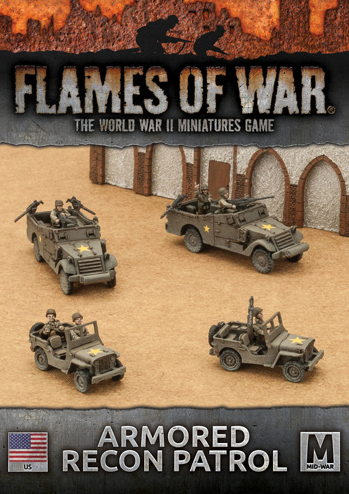 Flames of War Armored Recon Patrol | Boutique FDB