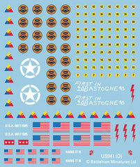 Updated Late War US decals (US941) | Boutique FDB