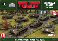 Flames of War Grimball's Beasts, American Army Deal | Boutique FDB