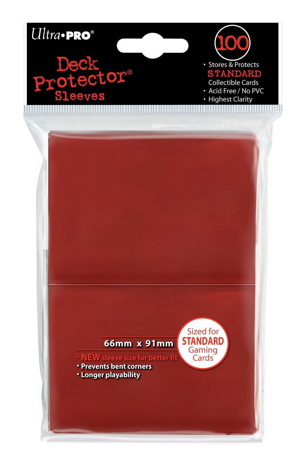 Ultra-Pro Sleeves 100 66x91mm | Boutique FDB