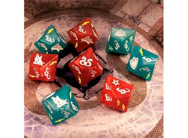 Sword and Sorcery Custom Dice Pack | Boutique FDB