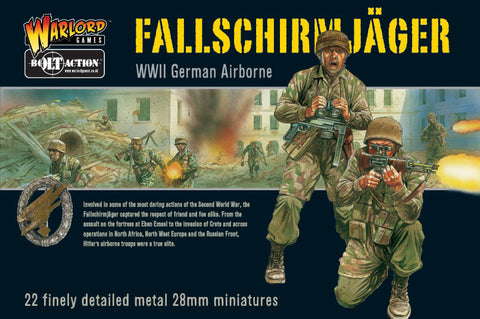 Fallschirmjager Army (Metal 1000pts)
