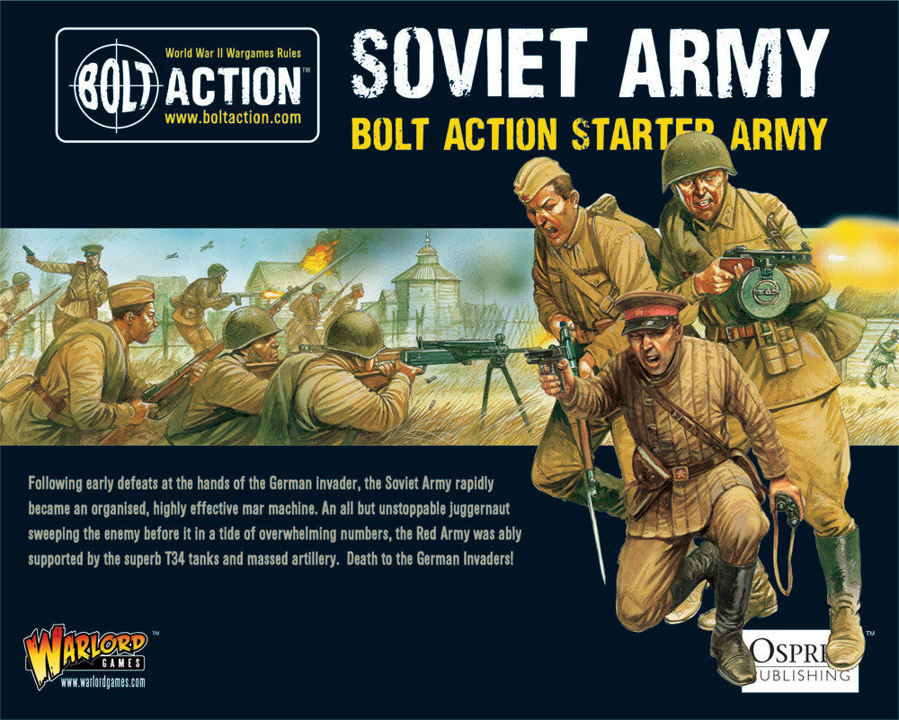 Soviet Army (Starter 1000pts) | Boutique FDB