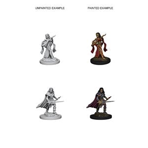 Pathfinder Deep Cuts Unpainted Miniatures: Wave 4: Elf Female Bard | Boutique FDB
