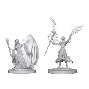D&D Nolzur's Marvelous Unpainted Minis: Elf Female Wizard