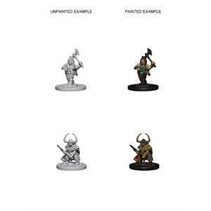 D&D Nolzur's Marvelous Unpainted Miniatures: Wave 4: Dwarf Female Barbarian