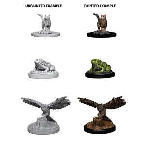 WizKids Deep Cuts Unpainted Miniatures: Wave 4: Familiars | Boutique FDB