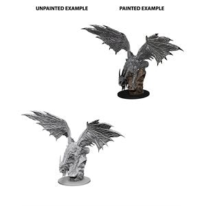 Pathfinder Deep Cuts Unpainted Miniatures: Wave 4: Silver Dragon | Boutique FDB