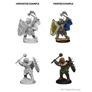 D&D Nolzur's Marvelous Unpainted Miniatures: Wave 4: Dragonborn Male Paladin | Boutique FDB