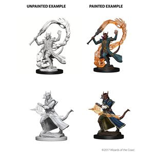 D&D Nolzur's Marvelous Unpainted Miniatures: Wave 4: Tiefling Male Sorcerer