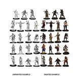 Wizkids Deep Cuts Unpainted Miniatures: Townspeople & Accessories | Boutique FDB