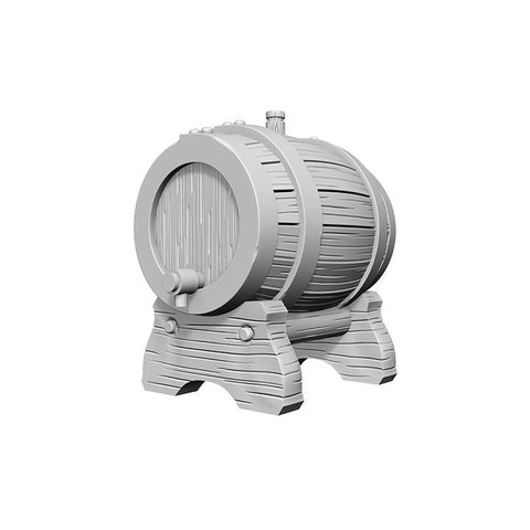 WizKids Deep Cuts Unpainted Miniatures: Keg Barrels